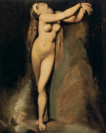 Angelica at the Rock (After Ingres)