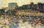 Courbevoie, Landscape With Turret