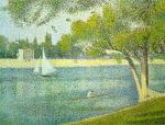 The Seine at Le Grande Jatte