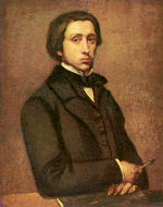 Portrait of Edgar Germain Hilaire Degas
