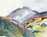 Alpine Landscape (Upper Engadin)