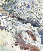 Bergbach Mountain Stream