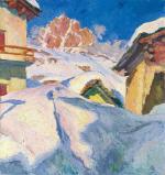 Capolago in Winter
