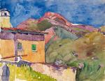 House with Longhino (Maloja)