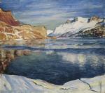 Lago che gela, Maloja