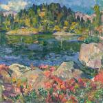 At Lake Cavloccio
