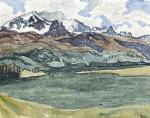 Lake Sils 1913