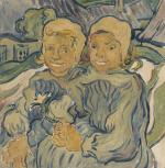 Les deux enfants (after van Gogh)