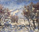 Winter Landscape in the Engadine