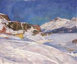 Winter Landscape near Capolago