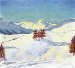 Winter Near St. Moritz