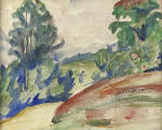 Wooded Landscape with Figure