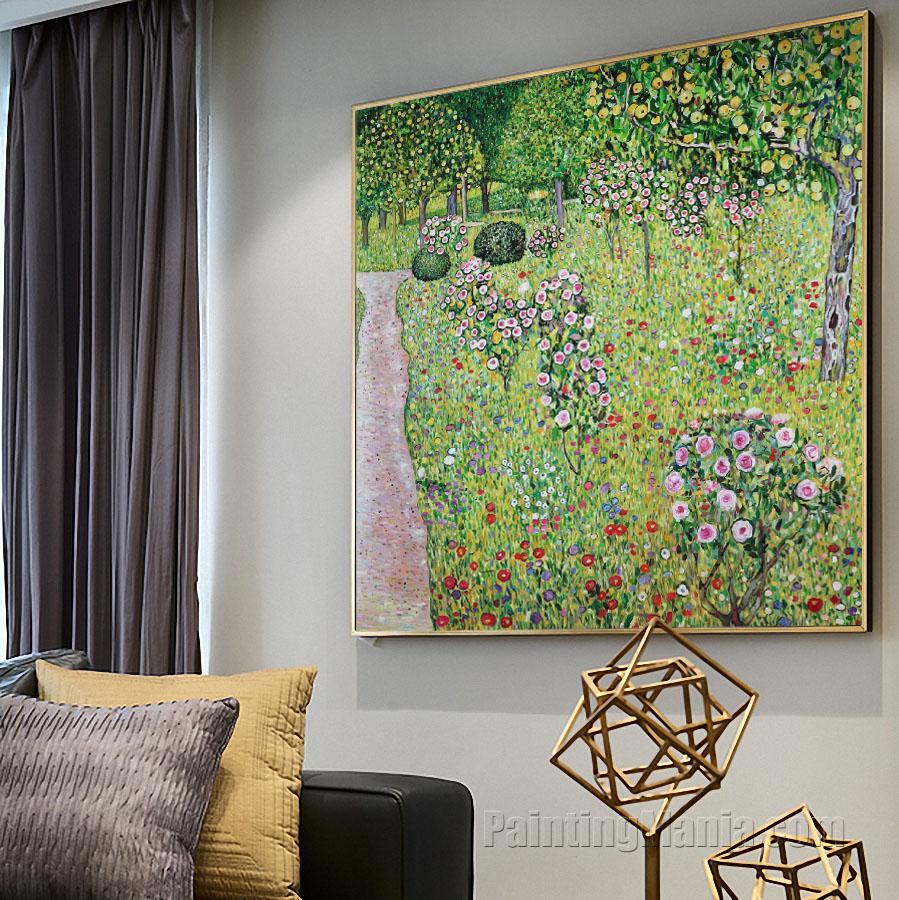 Orchard with Roses (Obstgarten mit Rosen)