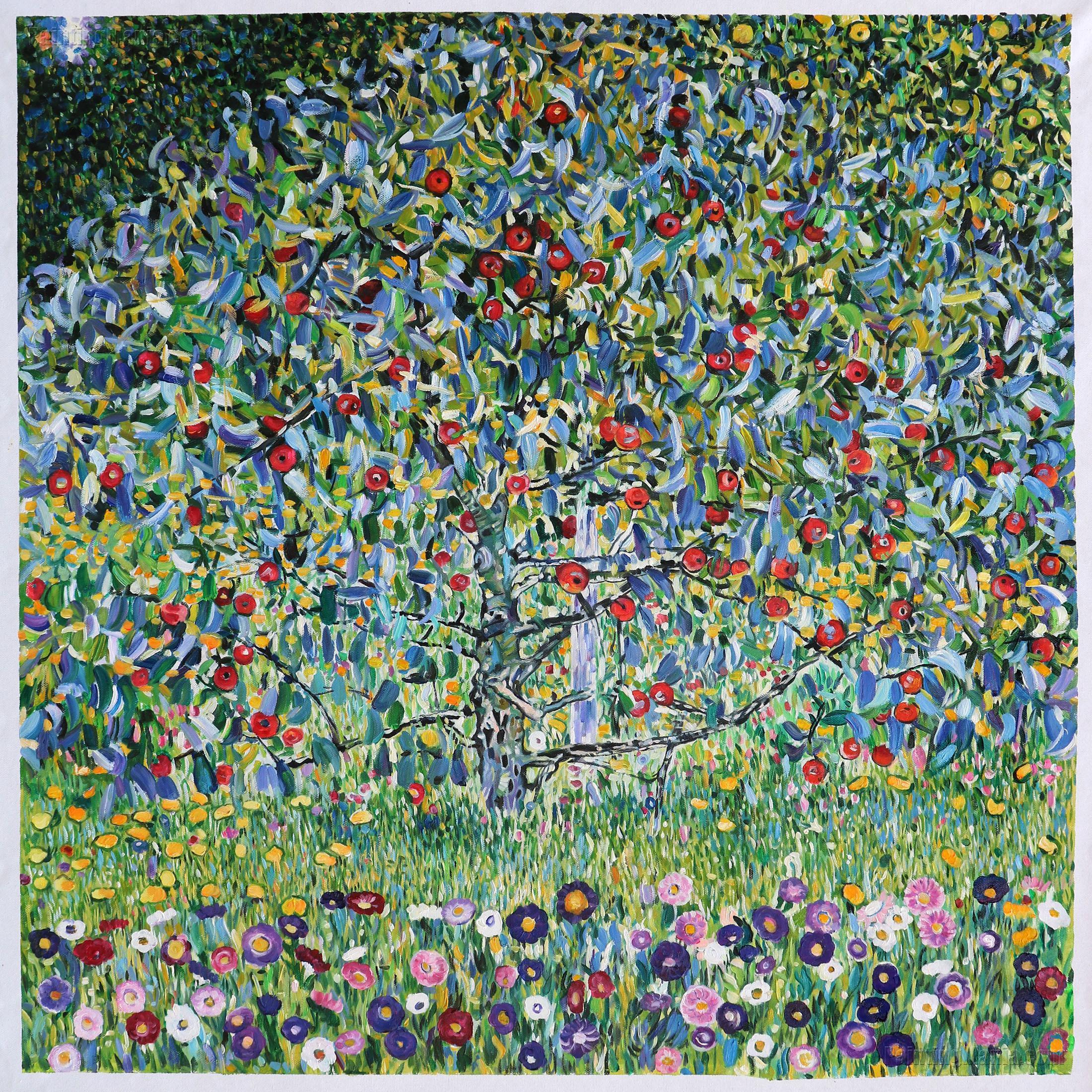 Apple Tree I Gustav Klimt Paintings