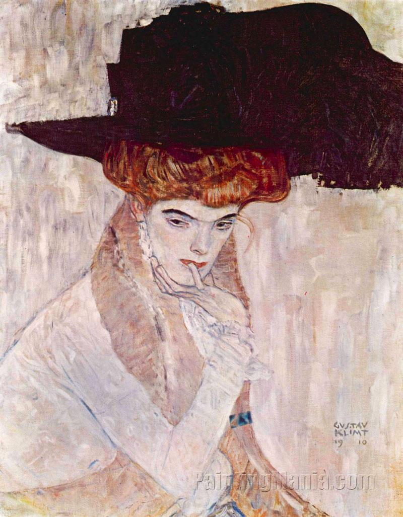 The Black Hat (Lady with a Feather Hat)