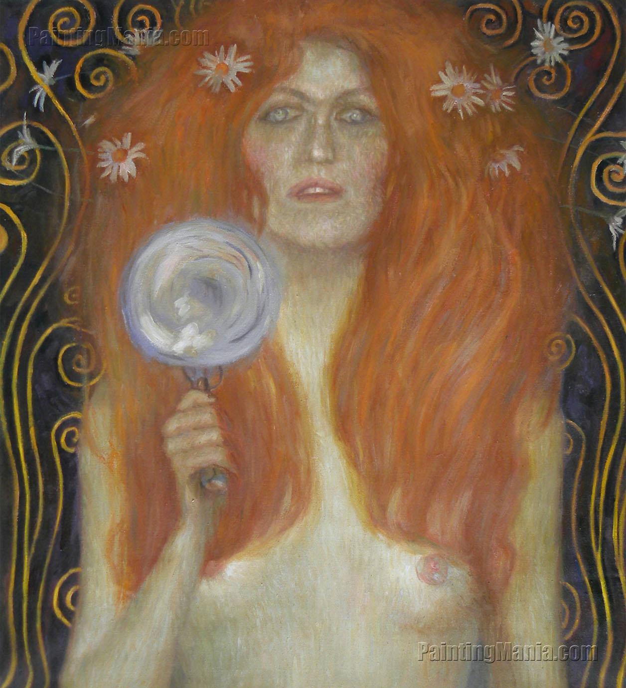 Nude Veritas (Detail)