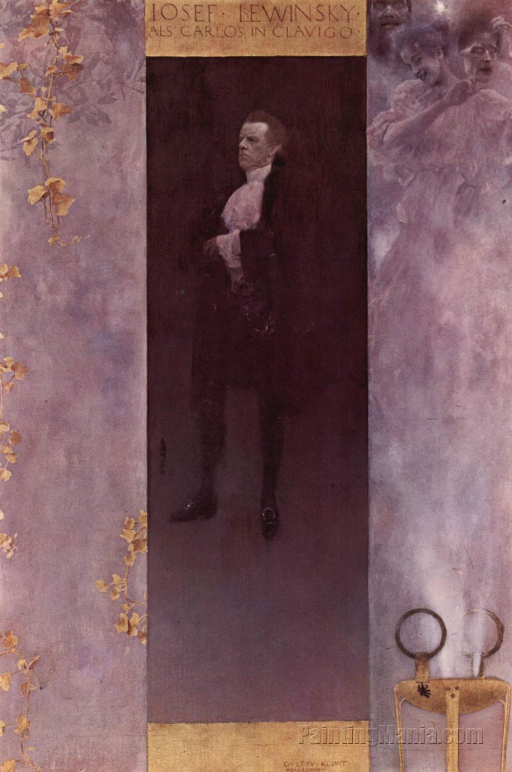 Portrait of Josef Lewinsky