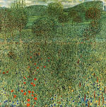 Garden Landscape (Flowering Field)