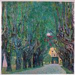 Lane in the Schloss Kammer Park