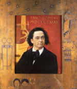 Portrait of the Pianist and Piano Teacher Joseph Pembauer