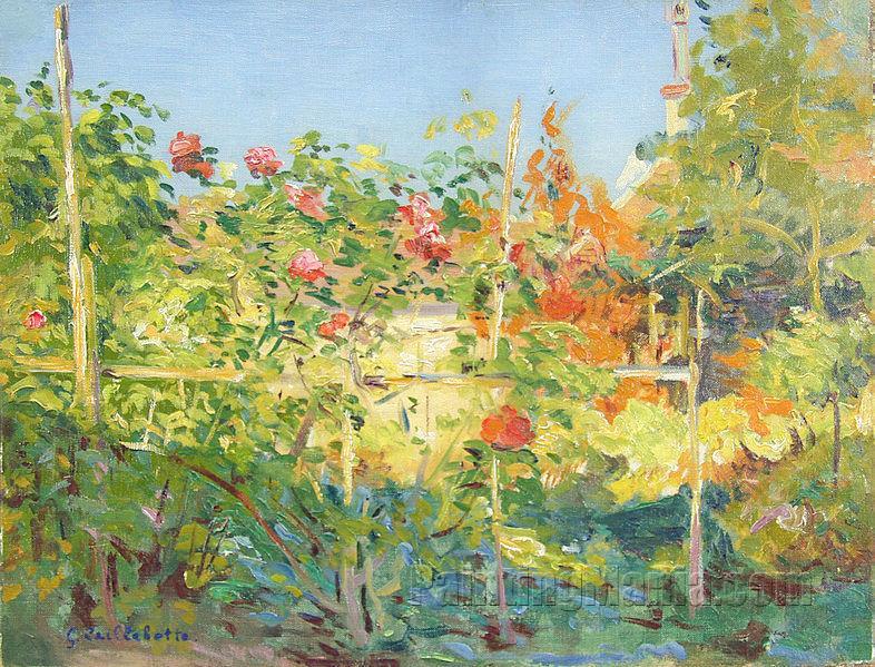 Garden in Trouville