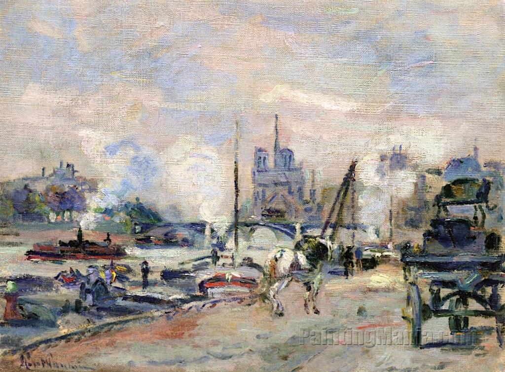 Notre-Dame de Paris, View from the Quays