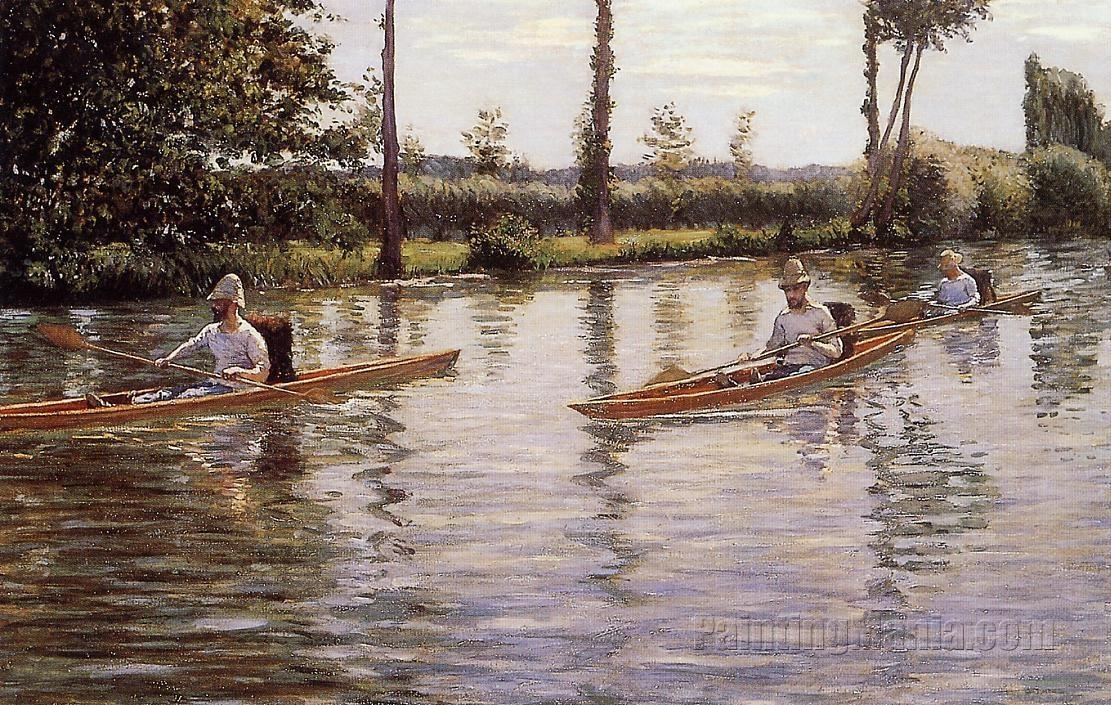 Perissoires sur l'Yerres (Boating on the Yerres)