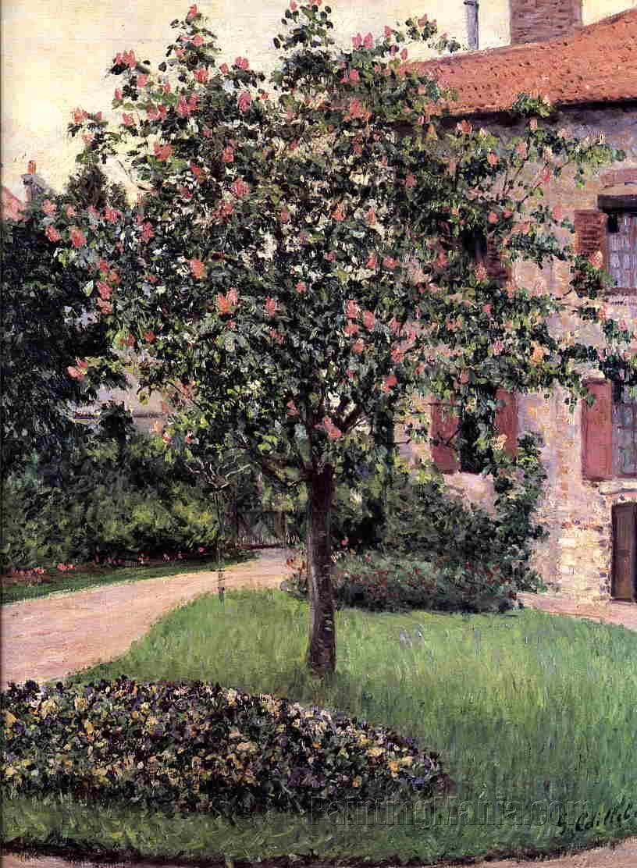 Petit Gennevilliers, Facade, Southeast of the Artist's Studio, Overlooking the Garden, Spring