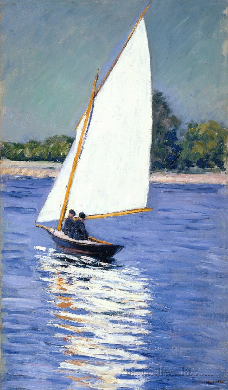 Sailboat on the Seine