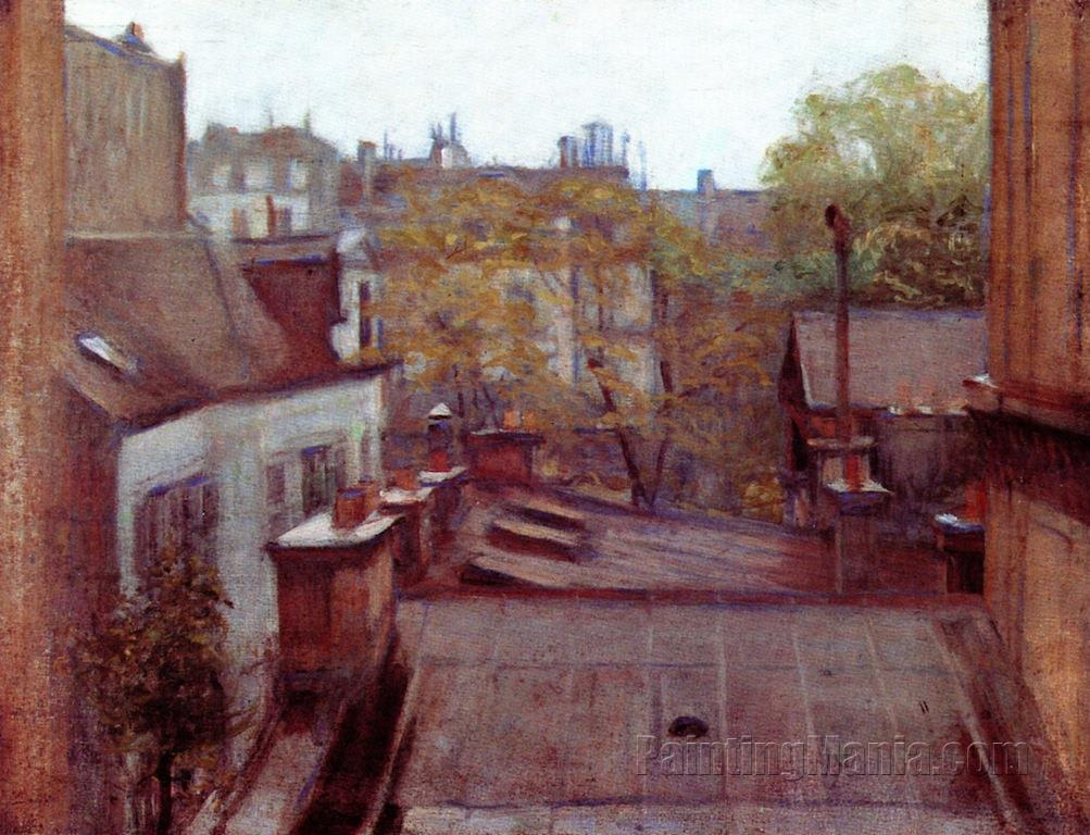 View of Roofs, Paris