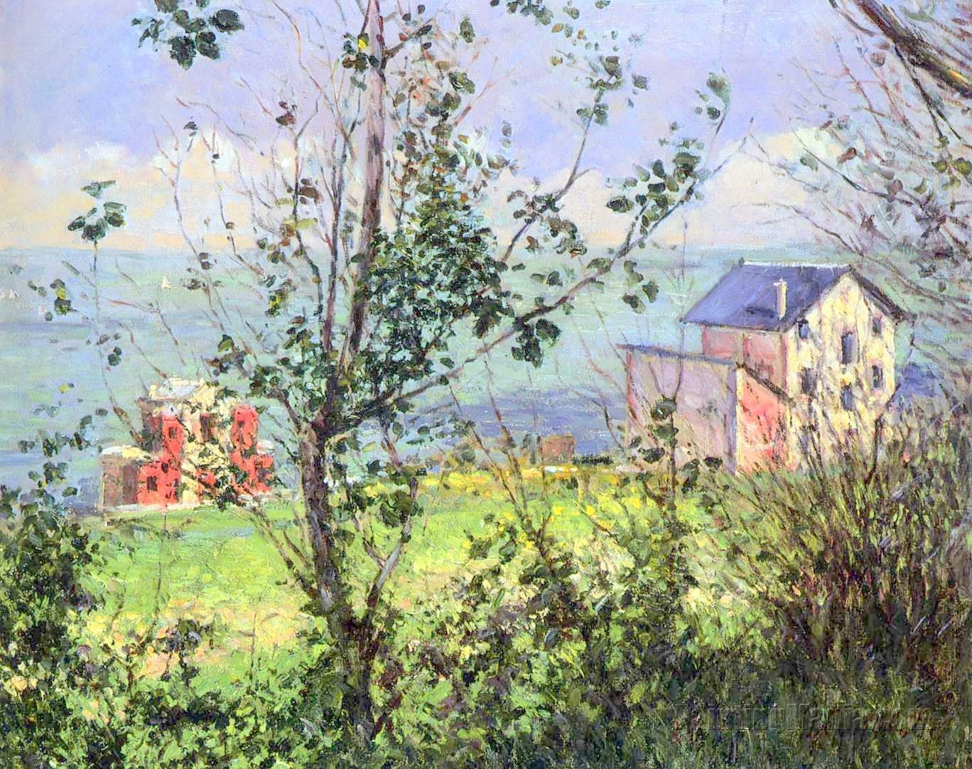 Villas at Trouville 1888