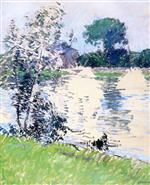The Banks of the Seine at Argenteuil 1890-1891