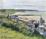 The Beach at Trouville, View from the Cornice