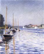 Boats on the Seine at Argenteuil 1892