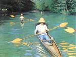 Canoeing on the Yerres