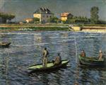 Fishermen on the Seine