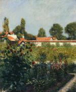 The Garden of Petit Gennevillers, the Pink Roofs