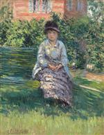 Madame Renoir in the Garden at Petit Gennevilliers