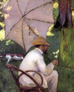 The Painter under His Parasol