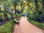 The Parc Monceau 1877