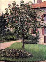 Petit Gennevilliers, Facade, Southeast of the Artist's Studio, Overlooking the Garden, Spring