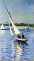 Sailboat on the Seine at Argenteuil