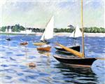 Sailing Boats on the Seine at Argenteuil