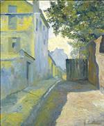 The Street of Saint-Denis, Montmartre