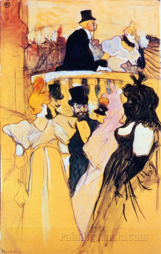 At the Opera Ball