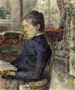 Comtesse a. de Toulouse-Lautrec in the Salon at Malrome
