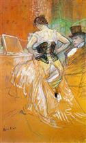Elles: Woman in a Corset