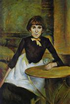 At La Bastille (Portrait of Jeanne Wenz)