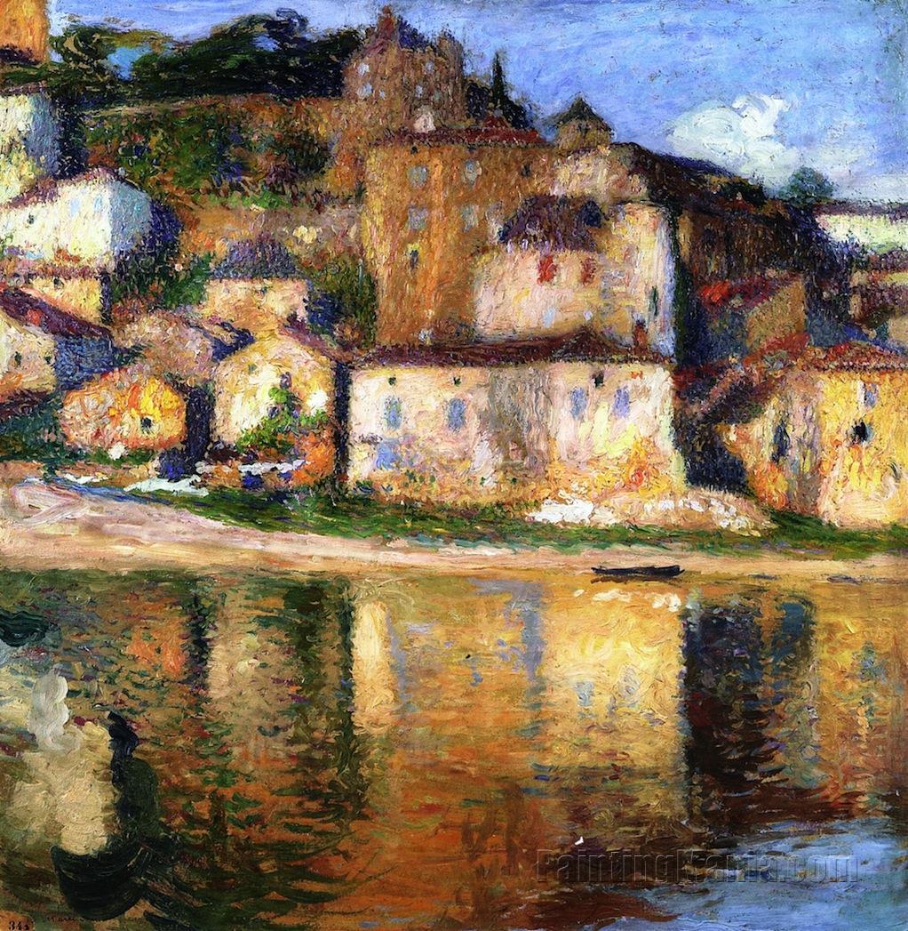 Анри-жан-гийом мартин (henri-jean martin guillaume) (1860-1943), французский художник-импрессионист (часть 2)