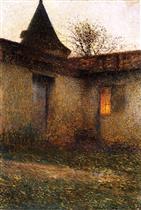 A Bastide Courtyard